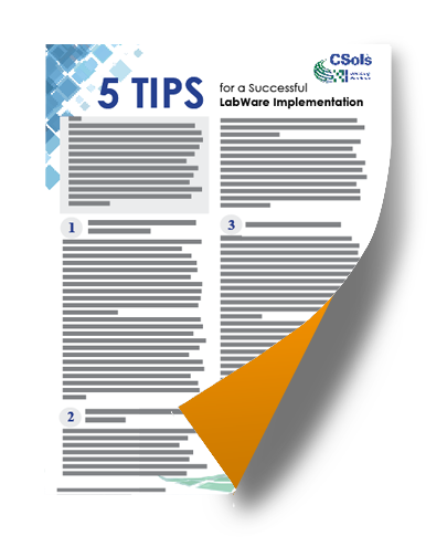 5 tips for a successful LabWare Implementation