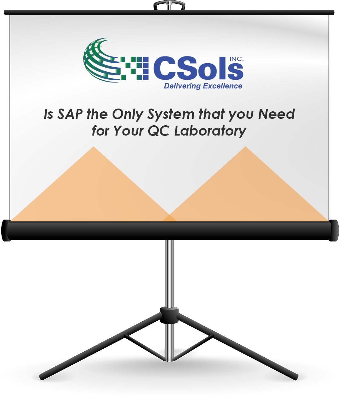 Is SAP the Only System that you need for your QC Lab