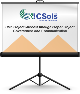 LIMS Project Success through Proper Project Governance