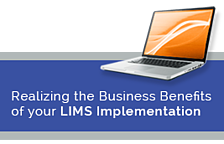 Realizing the Business Benefits of your LIMS Implementation